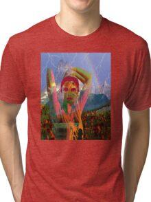 Fusion with the landscape Tri-blend T-Shirt