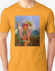 Fusion with the landscape Unisex T-Shirt