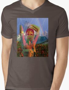 Fusion with the landscape Mens V-Neck T-Shirt