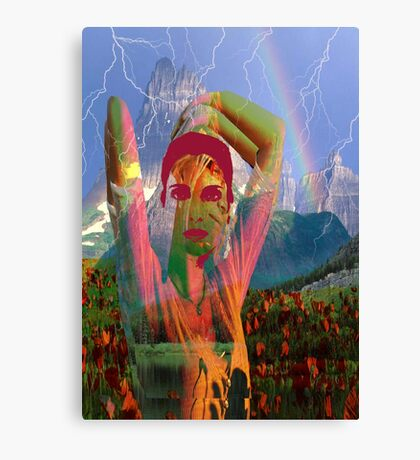 Fusion with the landscape Canvas Print