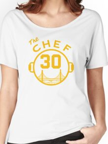 "Steph ""The Chef"" Curry with the Pot Women's Relaxed Fit T-Shirt"