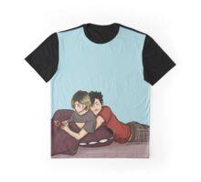 Haikyuu!! Kuroken Snuggles Graphic T-Shirt