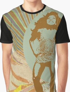 The private dancer in brown Graphic T-Shirt