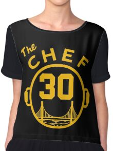 "Steph ""The Chef"" Curry with the Pot Chiffon Top"