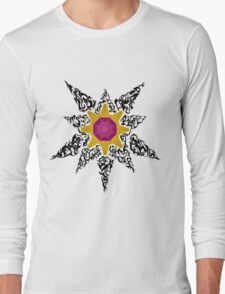 Pokemon Tribal - Starmie Black Long Sleeve T-Shirt