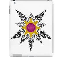 Pokemon Tribal - Starmie Black iPad Case/Skin