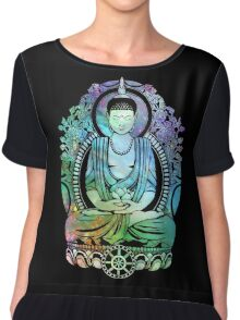 Gautama Buddha Cool Galaxy Chiffon Top