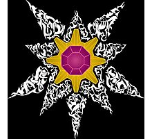 Pokemon Tribal - Starmie Pokemon Photographic Print