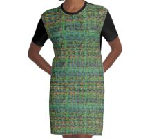 Adventures in Circuitry Graphic T-Shirt Dress