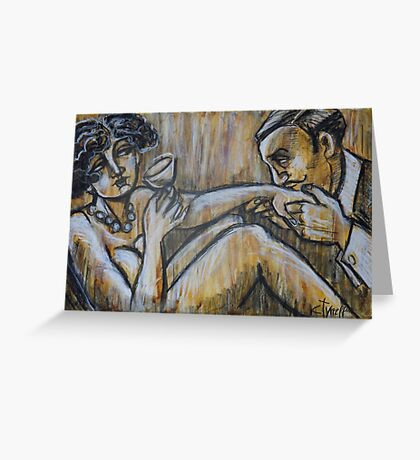 Lovers - Ma Cherie Amour Greeting Card