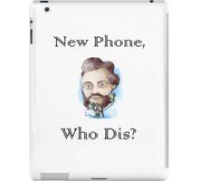 Alexander Graham Bell, New Phone Who Dis? iPad Case/Skin