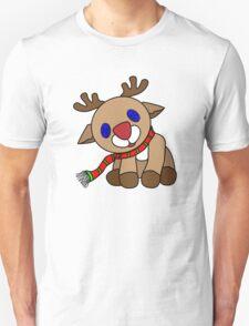 Tilted Reindeer Unisex T-Shirt
