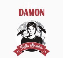 Team Damon Salvatore One Piece - Short Sleeve