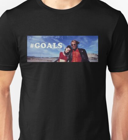 NATURAL BORN KILLERS - #GOALS Unisex T-Shirt