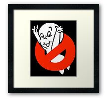 No Ghost Framed Print
