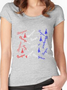 Bonjour Women's Fitted Scoop T-Shirt