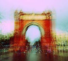 Memories of Spain 7 - Arc de Triomf in Barcelona by Igor Shrayer