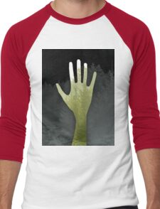 Hand of The Forest and Trees (green) Men's Baseball ¾ T-Shirt