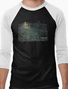 Silent Hill Sign Quotes Men's Baseball ¾ T-Shirt
