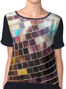 Disco Ball Chiffon Top