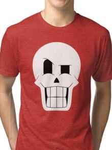 Simplistic Papyrus Tri-blend T-Shirt