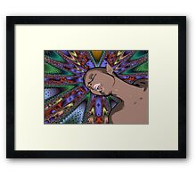 Cartoon Ecstasy Framed Print
