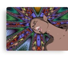 Cartoon Ecstasy Canvas Print