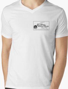 SLWG Classic Logo in Black  Mens V-Neck T-Shirt