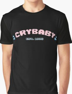 Cry Baby logo (with fill) Graphic T-Shirt