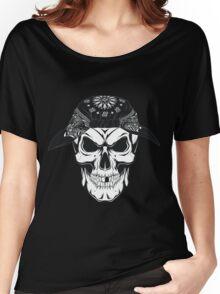 Gringo Skull Women's Relaxed Fit T-Shirt