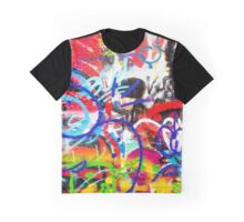 Crazy Graffiti Graphic T-Shirt