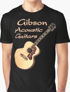 Gibson Acoustic Guitars Graphic T-Shirt