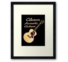 Gibson Acoustic Guitars Framed Print
