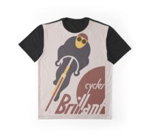 Retro vintage cycles Brillant advertising Graphic T-Shirt