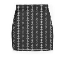 Mud Hook (White) - Toon-Shaded Anchor Mini Skirt