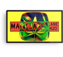 Mary Jane Lane - Leaf Metal Print