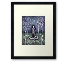 Moonless Night Framed Print