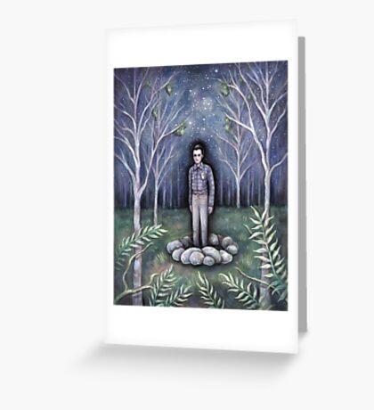 Moonless Night Greeting Card
