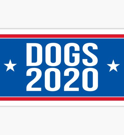 Dogs 2020 Sticker