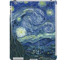 Post-impressionist, Vincent van Gogh, The Starry Night  iPad Case/Skin