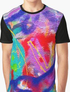 Crazy Graffiti Graphic T-Shirt