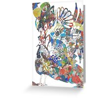 Shake a tail feather - twister Greeting Card