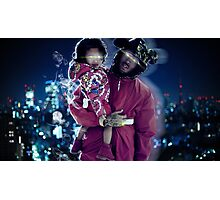 Chris & Royalty Photographic Print