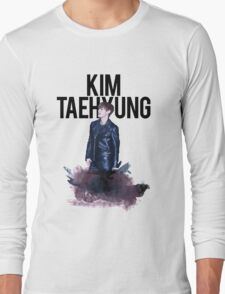 Kim Taehyung Water Color Long Sleeve T-Shirt