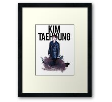 Kim Taehyung Water Color Framed Print