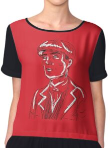 Tommy Shelby Graphic- Peaky Blinders Chiffon Top