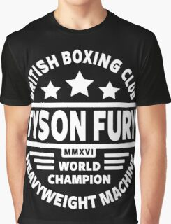 Tyson Fury Boxing Club Graphic T-Shirt