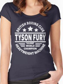 Tyson Fury Boxing Club Women's Fitted Scoop T-Shirt