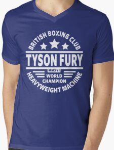 Tyson Fury Boxing Club Mens V-Neck T-Shirt