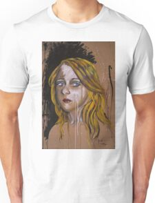 Blue eyed girl Unisex T-Shirt